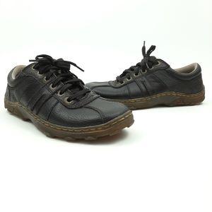 DR. MARTENS Pembridge Shoes Brown Leather Size 8